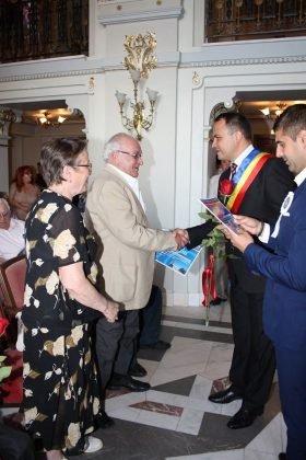 cupluri premiate de municipalitate5 280x420 - GALERIE FOTO: Cuplurile cu 50 de ani de căsătorie neîntreruptă, premiate de municipalitate