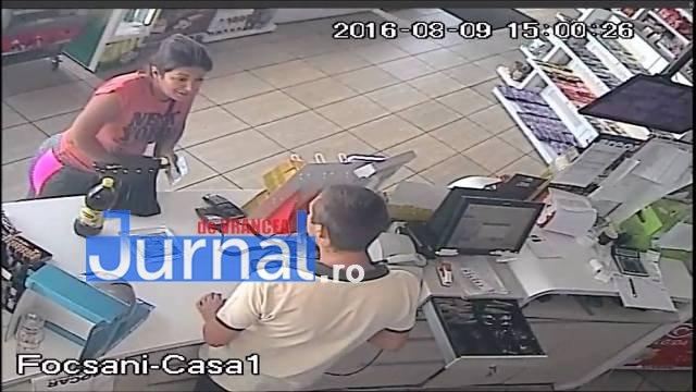 hoti benzinarie4 - Un bărbat şi o femeie, căutaţi pentru înşelăciune. Poliţiştii cer ajutorul populaţiei