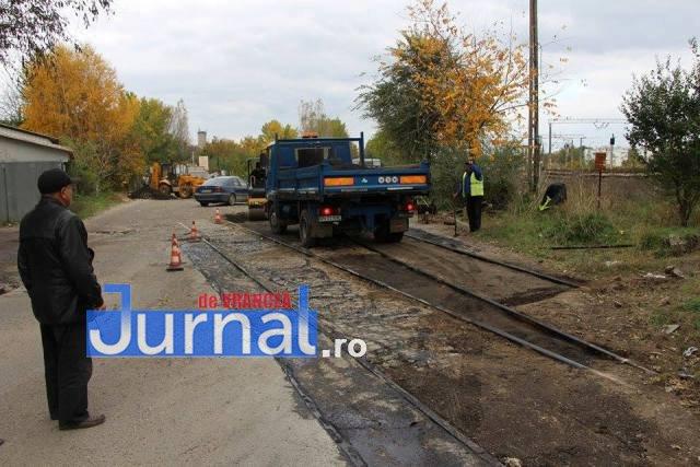 asfaltari antrepozite2 - Asfaltările din Focșani au ajuns pe strada Antrepozite