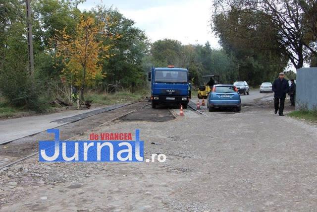 asfaltari antrepozite3 - Asfaltările din Focșani au ajuns pe strada Antrepozite
