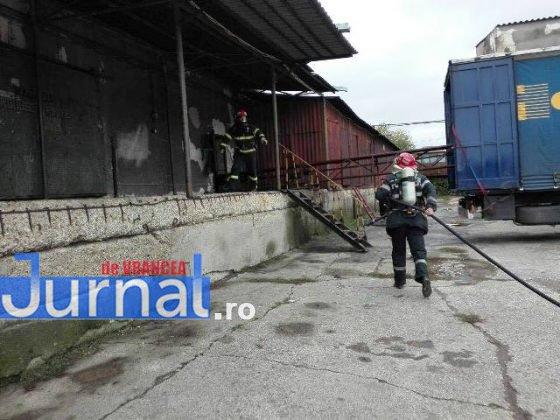 exercitiu isu vrancea9 560x420 - GALERIE FOTO: Antrenament al pompierilor la fabrica de vase emailate