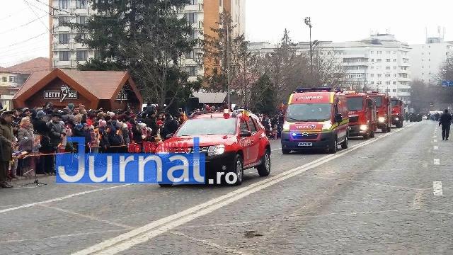 3parada 1 decembrie focsani - GALERIE FOTO: Cum s-a sărbătorit la Focșani Ziua Națională a României