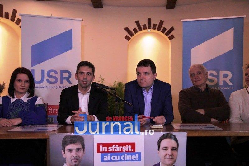 IMG 6433 - Candidații USR, susținuți la Focșani de Nicușor Dan. Virgil Petrea este candidatul garantat de Nicușor Dan