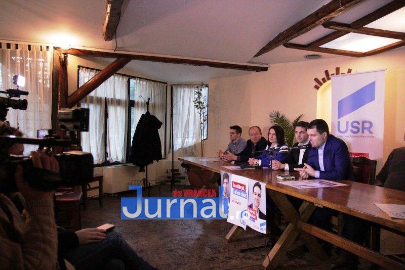 IMG 6447 - Candidații USR, susținuți la Focșani de Nicușor Dan. Virgil Petrea este candidatul garantat de Nicușor Dan