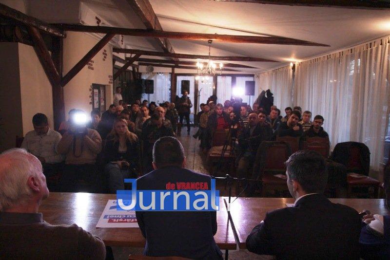IMG 6473 - Candidații USR, susținuți la Focșani de Nicușor Dan. Virgil Petrea este candidatul garantat de Nicușor Dan