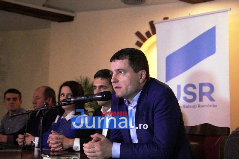 IMG 6475 - Candidații USR, susținuți la Focșani de Nicușor Dan. Virgil Petrea este candidatul garantat de Nicușor Dan