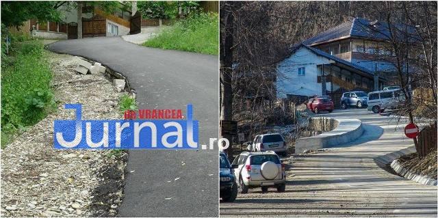 drum manastirea dalhauti4 - FOTO: Se circulă din nou, în condiții decente, pe drumul către Mănăstirea Dălhăuți