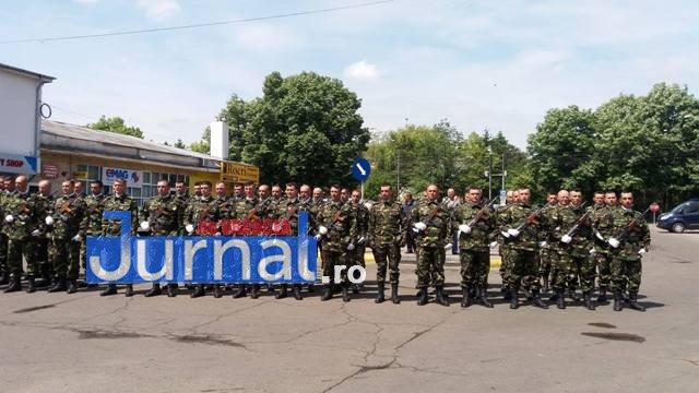 ziua eroilor7 - FOTO: Eroii Neamului, comemorați la Mausoleul Focșani și la celelalte mausolee din județ