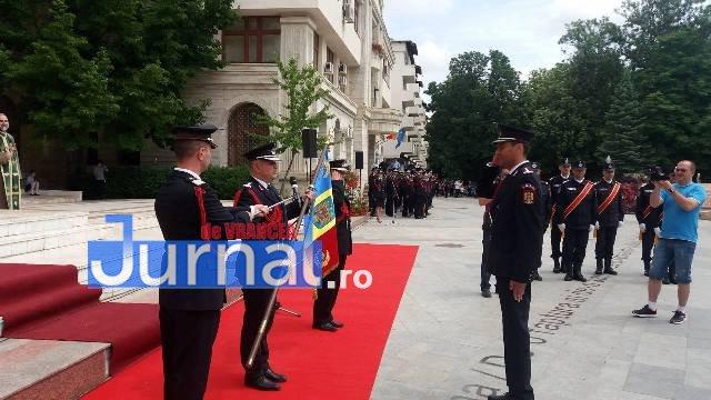isu10 - FOTO: Schimbare de comandă la ISU Vrancea. Cine este noul comandant