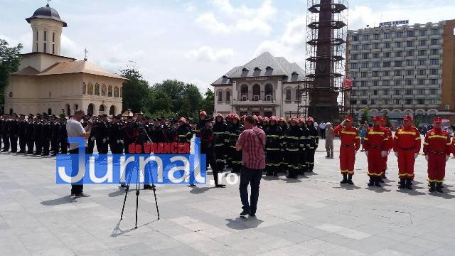 isu13 - FOTO: Schimbare de comandă la ISU Vrancea. Cine este noul comandant