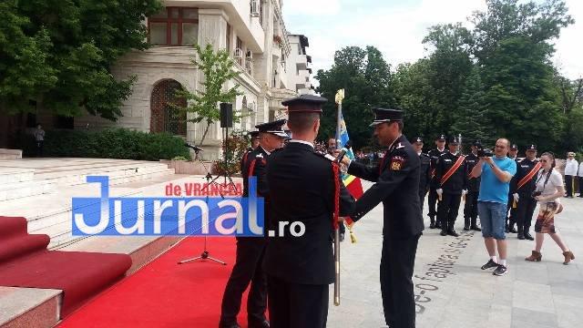 isu9 - FOTO: Schimbare de comandă la ISU Vrancea. Cine este noul comandant