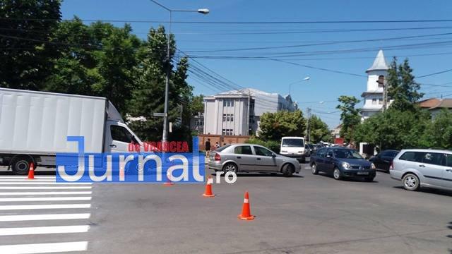 trafic focsani2 - Traficul din Focșani, dat peste cap de oamenii Primăriei