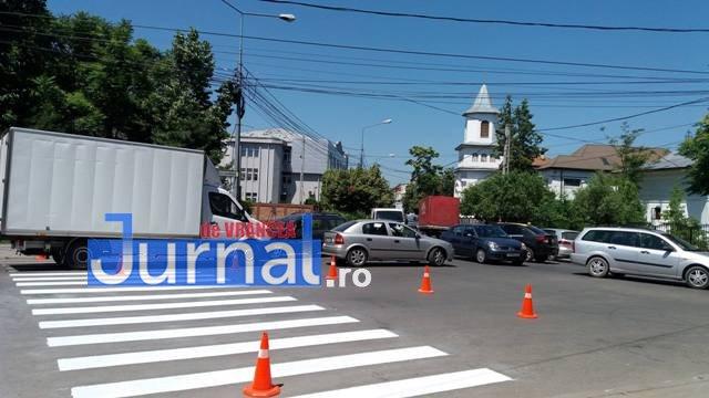 trafic focsani3 - Traficul din Focșani, dat peste cap de oamenii Primăriei