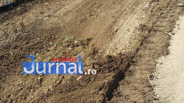 Lucrari str. Ciresului 8 - FOTO: Primăria Orașului Panciu a început modernizarea drumurilor de exploatație agricolă