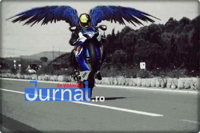 motociclist mort gresu1 - A zburat pe două roți direct în parapet! Motociclist, mort în urma unui accident rutier la Greșu