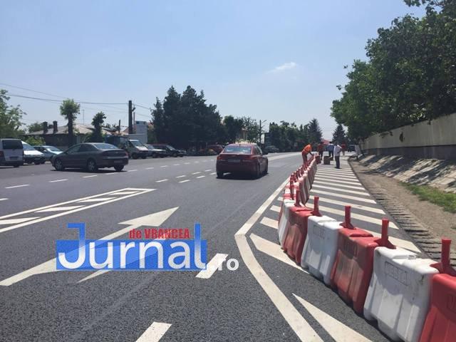parapeti dn2 e85 golesti2 - VIDEO: Circulația rutieră se schimbă pe DN2 la Golești, după accidentul de luni