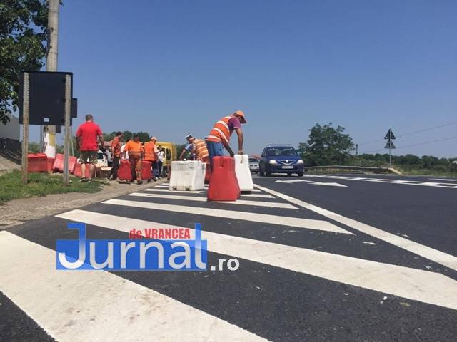 parapeti dn2 e85 golesti3 - VIDEO: Circulația rutieră se schimbă pe DN2 la Golești, după accidentul de luni