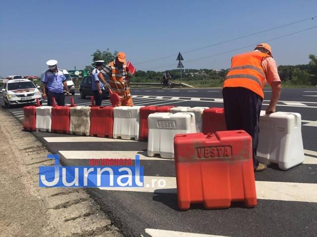 parapeti dn2 e85 golesti4 - VIDEO: Circulația rutieră se schimbă pe DN2 la Golești, după accidentul de luni