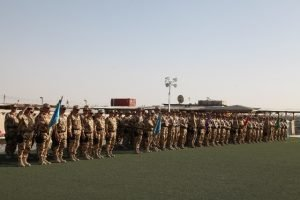 """IMG 0298 300x200 - FOTO:  """"Brave Hearts"""" din Focșani se ocupă de securitatea Bazei Militare Aeriene din Kandahar"""