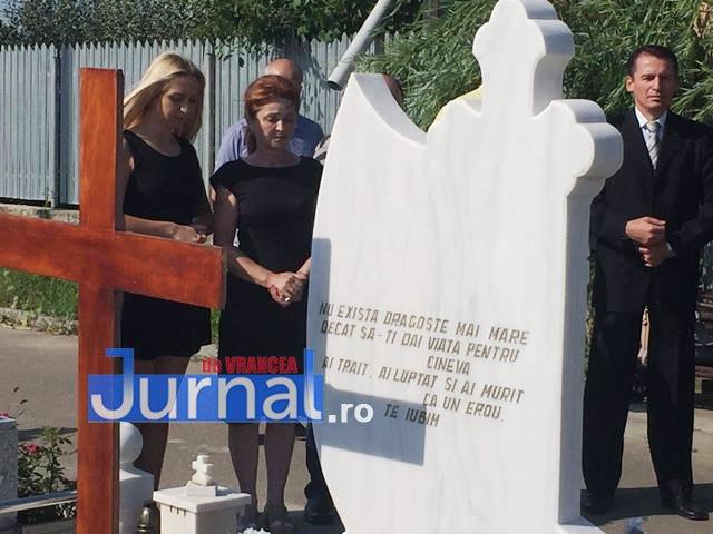 comemorare tomita lazar cimitirul nordic 2 - VIDEO: Tomiță Lazăr comemorat de colegi și familie la Cimitirul Nordic