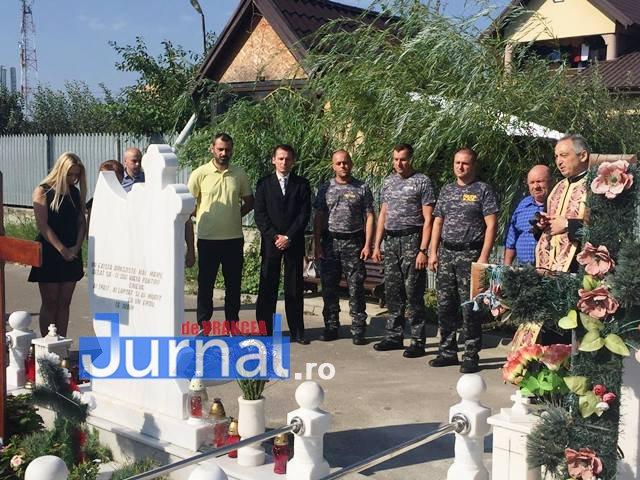 comemorare tomita lazar cimitirul nordic 3 - VIDEO: Tomiță Lazăr comemorat de colegi și familie la Cimitirul Nordic