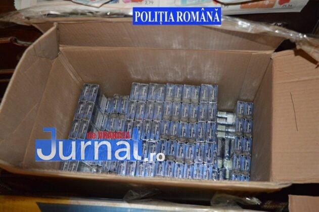 perchezitii tigari5 631x420 - FOTO: Captură-record de țigări de contrabandă la domiciliul unui bărbat din Golești