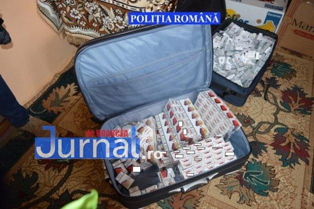 perchezitii tigari7 631x420 - FOTO: Captură-record de țigări de contrabandă la domiciliul unui bărbat din Golești