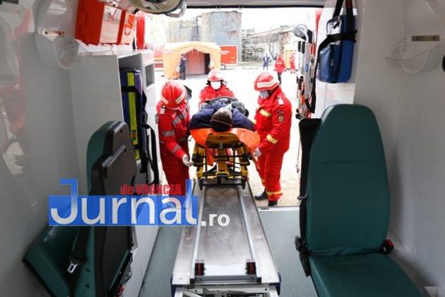 ambulanta smurd isu vranceapompieri exercitiu vrancart7 630x420 - GALERIE FOTO: Pompierii au simulat un accident chimic în curtea Vrancart