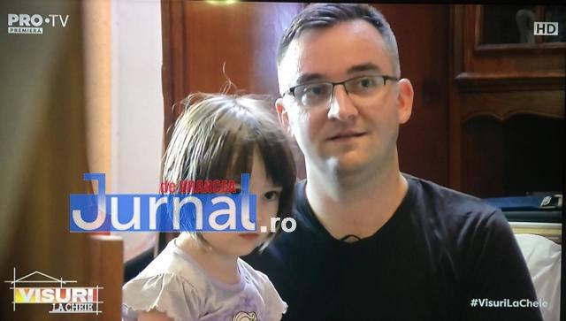 """visuri la cheie florentiu cucu 2 - FOTO-VIDEO: Cine este focșăneanul care are un apartament renovat complet de emisiunea """"Visuri la cheie"""" de la Pro TV"""