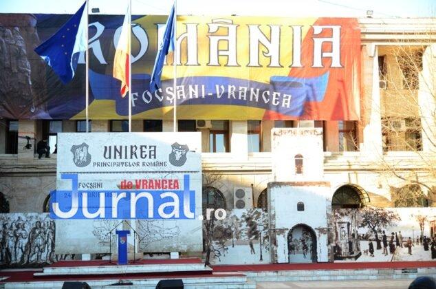 24 ianuarie focsani ziua unirii 2 634x420 - FOTO și VIDEO: Cum s-a sărbătorit Ziua Micii Uniri la Focșani