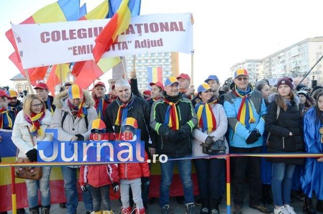 24 ianuarie focsani ziua unirii 7 634x420 - FOTO și VIDEO: Cum s-a sărbătorit Ziua Micii Uniri la Focșani
