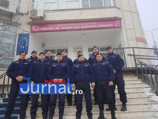 donare de sange jandarmeria vrancea2 - FOTO: Jandarmii vrânceni au donat sânge