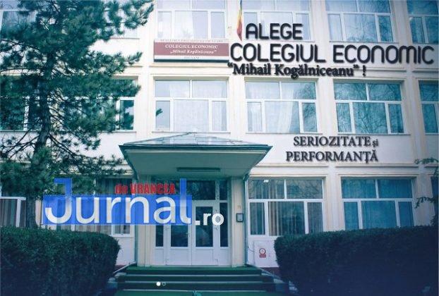 """colegiul economic 622x420 - FOTO: Patru licee și o școală generală se """"bat"""" pentru un Focșani mai curat"""