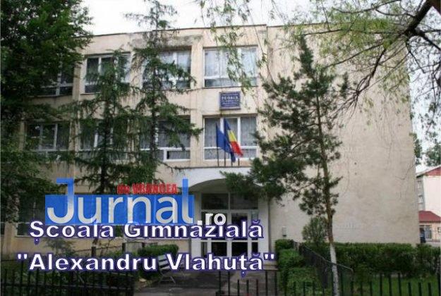 """scoala gimnaziala al vlahuta 625x420 - FOTO: Patru licee și o școală generală se """"bat"""" pentru un Focșani mai curat"""