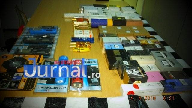 perchezitii 2 - FOTO: Vrâncean prins cu 59 de parfumuri contrafăcute! Ce i-au făcut jandarmii