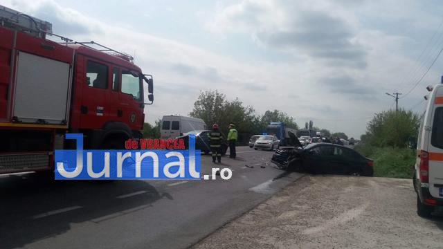 popesti accident vrancea1 5 - UPDATE-ULTIMĂ ORĂ: Accident grav pe drumul european, la Popești
