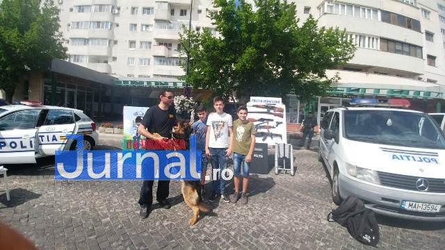 1 iunie politia romana11 - FOTO-VIDEO: De 1 Iunie, polițiștii au dat în mintea copiilor
