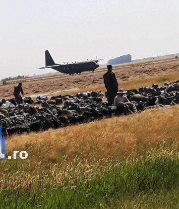 elevi vidra avion5 361x420 - GALERIE FOTO: Experiență inedită pentru un grup de elevi din Vidra! Au zburat cu avioanele militare