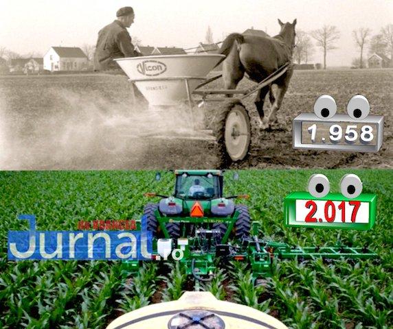trăgând durerea în agricultură)