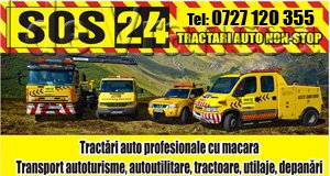 Tractari auto Focsani - SOS24