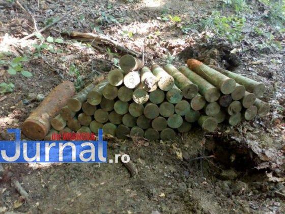 bombe vidra proiectile3 560x420 - FOTO: Depozit de muniție, descoperit la Vidra de un grup de căutători de comori