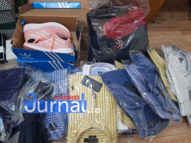 bunuri confiscate3 - FOTO: Nike şi Channel contrafăcute! Gălăţean prins cu mărfuri contrafăcute, la vânzare