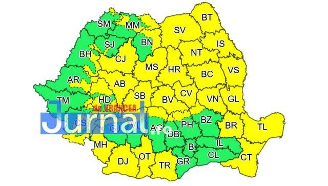 cod galben septembrie - ULTIMĂ ORĂ: Se schimbă vremea! Temperaturi cu mult sub media normală și vânt puternic