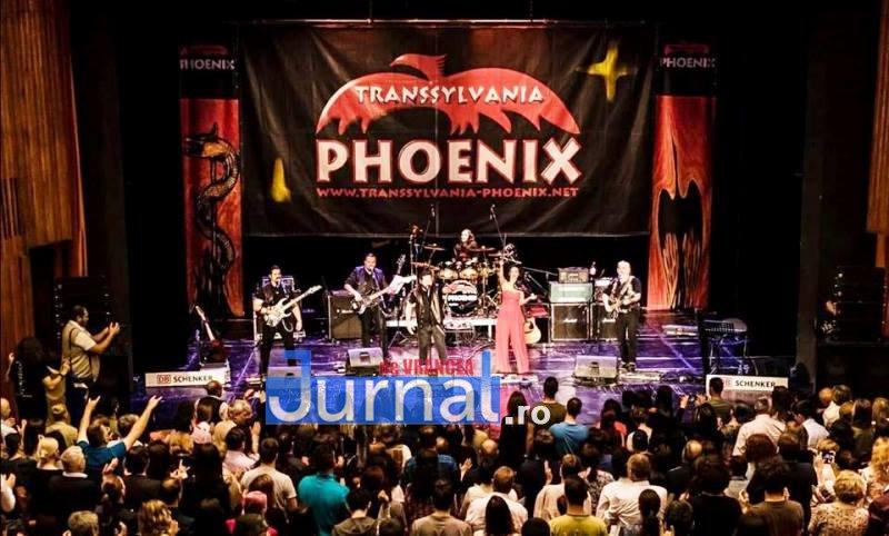 phoenix 2 - Phoenix – Arhaic Rock, concert la Focșani