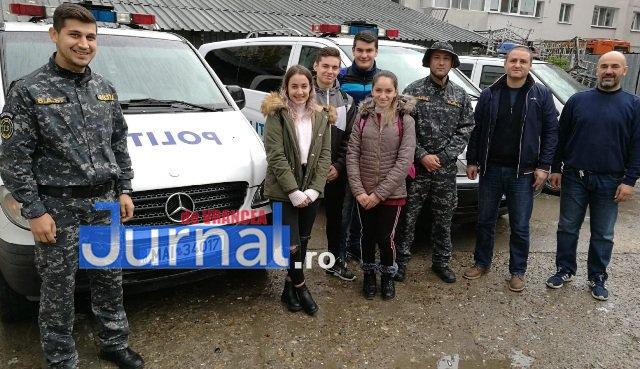Ziua Stafetei SAS1 - FOTO: 19 liceeni au fost polițiști pentru o zi