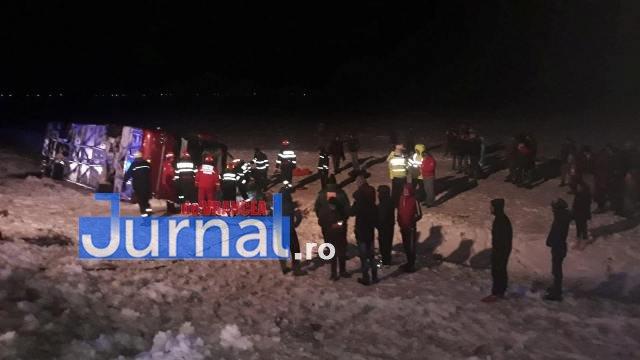 autocar rasturnat3 - VIDEO-UPDATE-FOTO-ULTIMĂ ORĂ: Un autocar s-a răsturnat la Haret