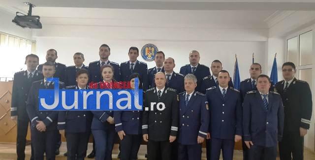 avansari 1 decembrie politie1 - GALERIE FOTO: Avansări în grad la IPJ Vrancea, cu ocazia Zilei Naționale a României