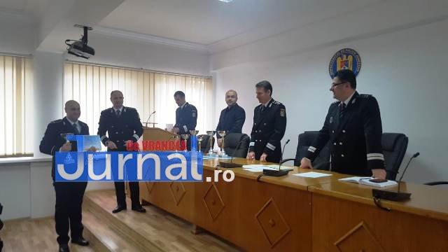 avansari 1 decembrie politie2 - GALERIE FOTO: Avansări în grad la IPJ Vrancea, cu ocazia Zilei Naționale a României