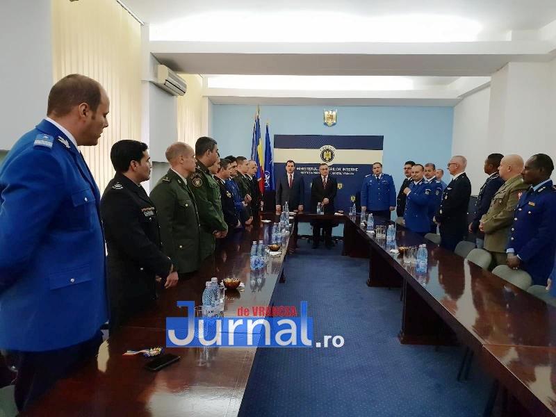 ijj vrancea 12jpg - Musafiri din țări străine, în vizită la Jandarmeria Vrancea