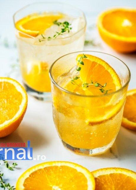 limonada portocale - Cum îți poți întări imunitatea în sezonul rece?